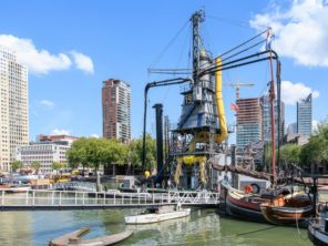 Rotterdam - technické zajímavosti