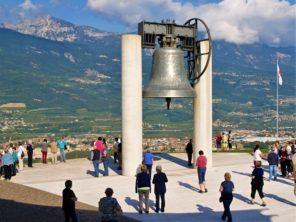 Rovereto - zvon Míru