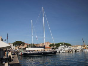 Promenáda v Saint Tropez
