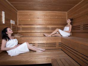 Sauna v hotelu reStart