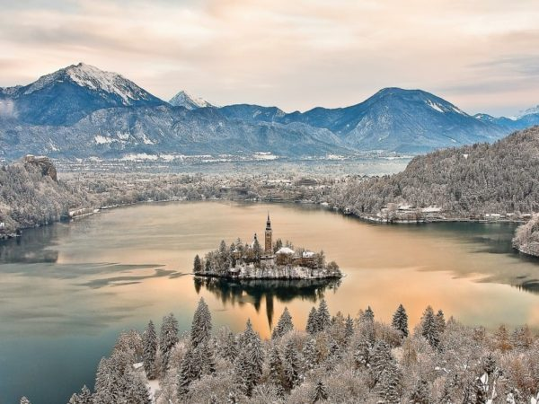 Silvestrovský pobyt - Slovinsko - Bled