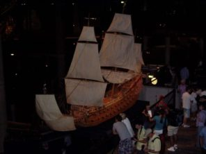 Stockholm - loď Wasa