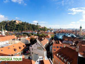 Štýrsko vlakem - město Graz