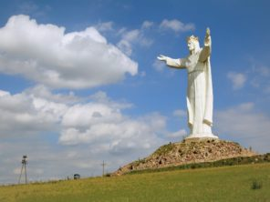 Swiebodzin - socha Krista