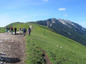 Túra na hoře Monte Baldo