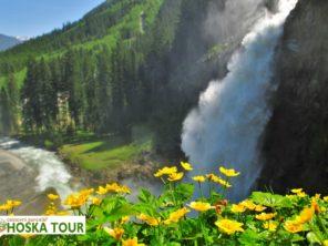 Tauernská cyklostezka - Krimmelské vodopády