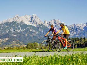 Tauernská cyklostezka - trasa mezi horami