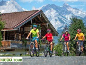 Tauernská cyklostezka - trasa vhodná i pro rodiny a děti