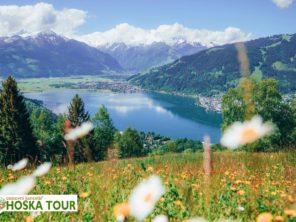 Taurská cesta - jezero Zeller See