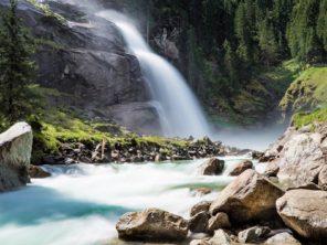 Taurská cyklostezka - Krimmelské vodopády