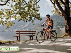 Taurská cyklostezka - stezka u jezera Zeller See