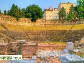 Terst - Římský amfiteátr