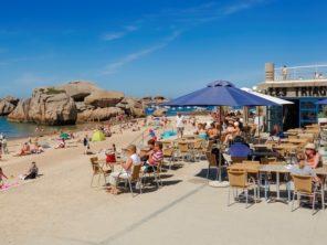 Pláž Tregastel Plage