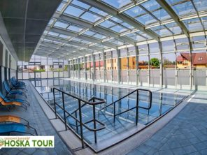 Turčianske Teplice - bazén v aquaparku