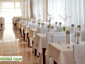 Turčianske Teplice - jídelna hotelu Veľká Fatra