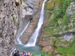 U vodopádu Savica