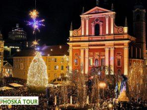 Vánoce v Lublani