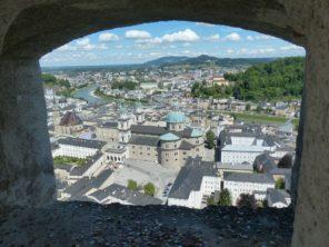 Výhled z pevnosti Hohensalzburg