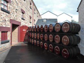 Výroba Whisky Buschmills
