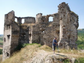Zřícenina hradu Veľký Kamenec