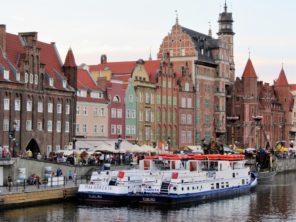Ve městě Gdaňsk