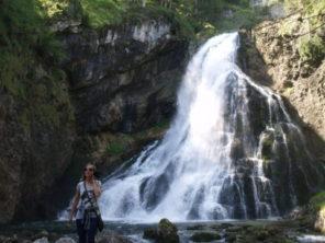 Vodopád v Gollingu