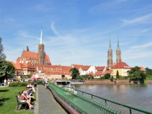Wroclaw - Tumský ostrov