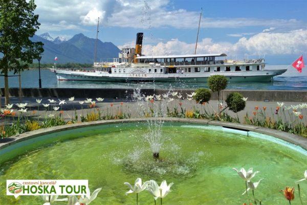 Zájezdy pro školy - Ženevské jezero