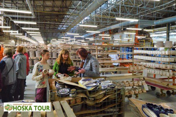 Zájezdy pro firmy - exkurze do keramičky