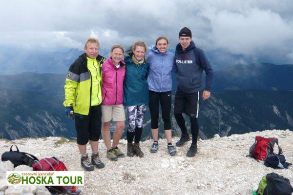 Zájezdy pro malé skupiny - turistika v Julských Alpách