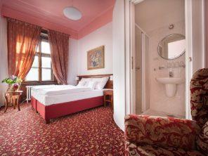 Zámecký hotel Hrubá Skála - pokoje