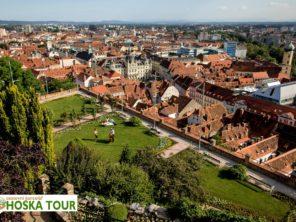 Zájezd do Grazu - terasy na Hradním návrší