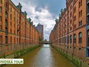 Zájezd do Hamburku - bývalé obchodní sklady