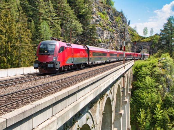 Zájezd vlakem Štýrsko Graz Medvědí soutěska