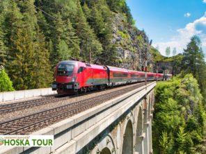 Zájezd vlakem do Štýrska - Semmering