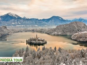 Zimní Bled - Slovinsko