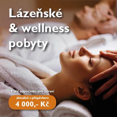 Lázeňské a wellness pobyty