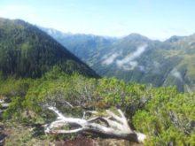 Výhled z hory Hochwurzen