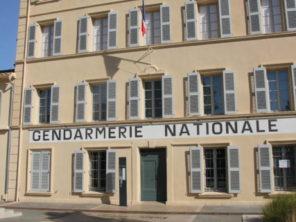 Četnická stanice v Saint Tropez