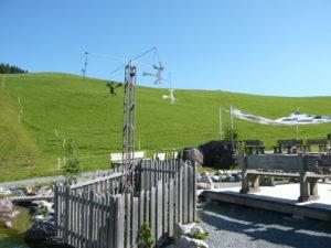 mezistanice Hexenwasser pod vrcholem Hohe Salve