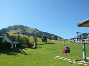 kabinová lanovka na Hohe Salve (1828 m)