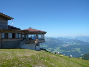 restaurace s 1. otočnou panoramatickou terasou v Rakousku