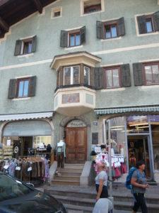 rodný dům lyžaře Toni Sailera v Kitzbühelu