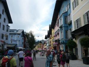 náměstíčko v Kitzbühelu