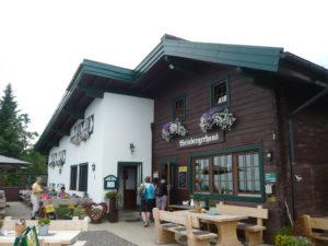 restaurace na u Brentenjoch nad Kufsteinem