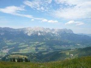 pohled na jižní stranu Wilder Kaiseru