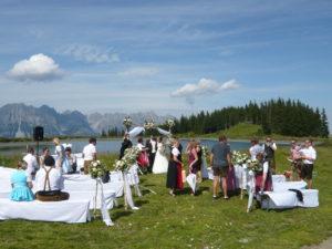 rakouská svatba při naší cestě