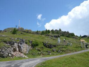 úbočí vrcholu Kitzbüheler Horn