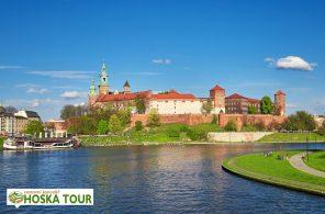 Návštěva Krakova - královský hrad Wawel