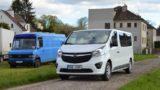 Přeprava německým mikrobusem Opel
